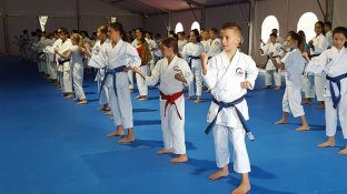 Umag kids&youth trainig camp and World cup KARATE 2017